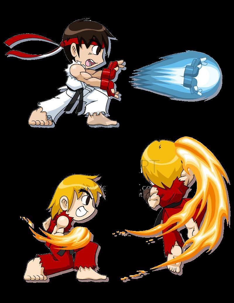 Youth Sf Alpha 3 Ryu-Ken T-Shirt Street Fighter