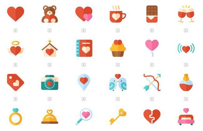 350 Free Valentines Day Icons In Png Psd Vector Valentines Day