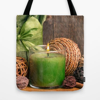 Relaxing Spa Tote Bag by Edward M. Fielding - $22.00