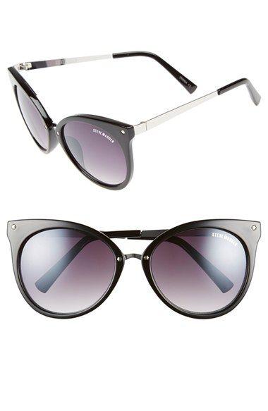 78980c2f4b7c0 Steve Madden 55mm Cat Eye Sunglasses