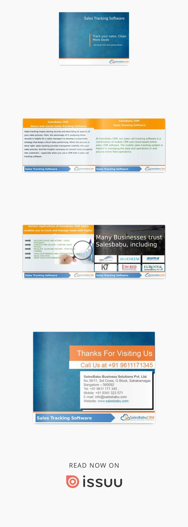 salesbabu sales tracking software track your sales close more