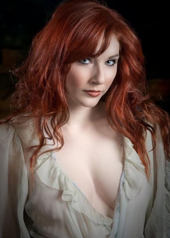 Hottest redhead on the web
