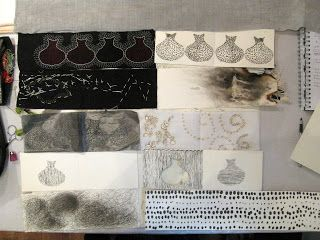 Lesley Turner: Dorothy Caldwell: Book Making - Putting it all Together