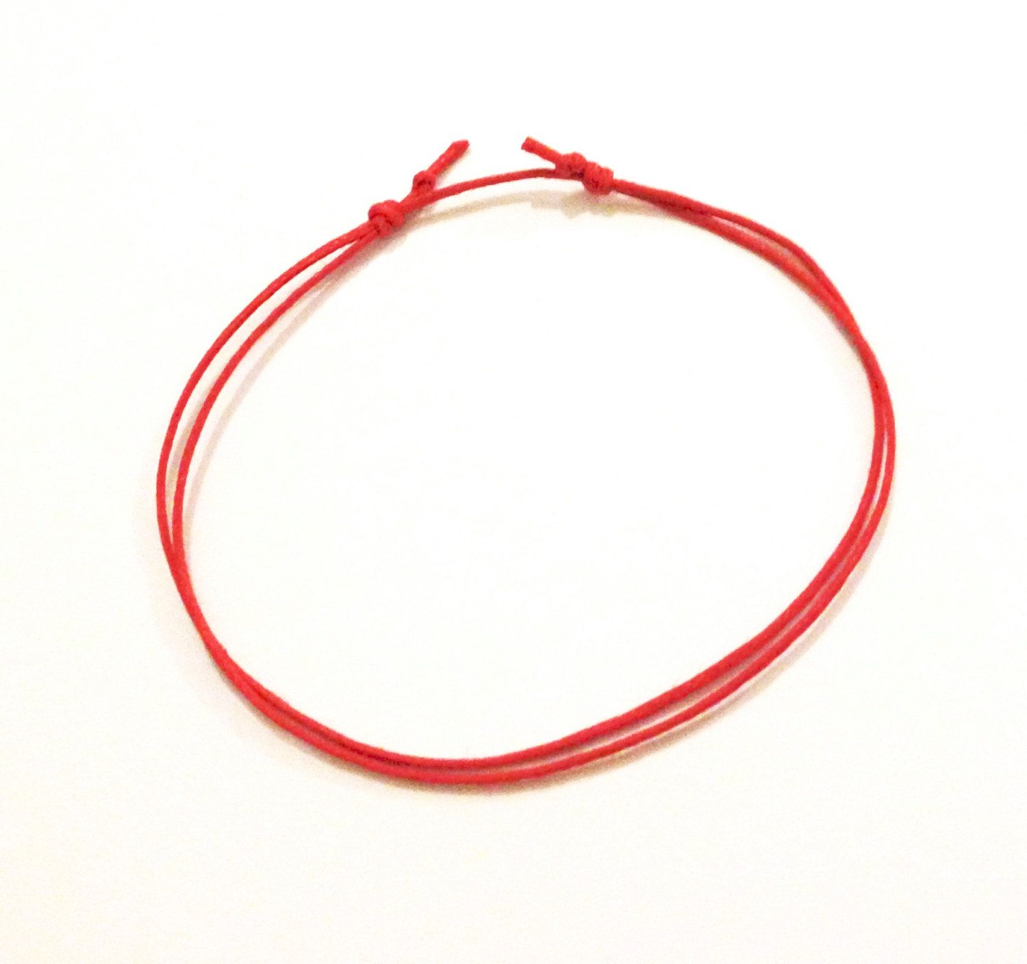 used fate of bracelets myshoplah anklet red braided string for anklets