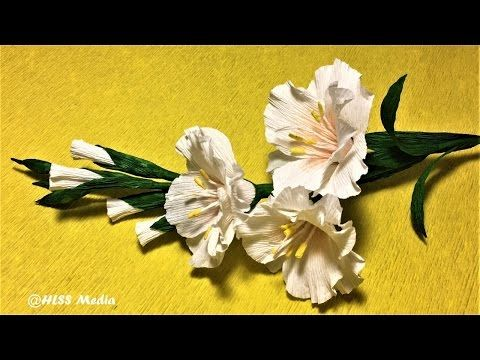 How to make an easy origami paper flower diy crepe paper flower how to make an easy origami paper flower diy crepe paper flower making step by mightylinksfo