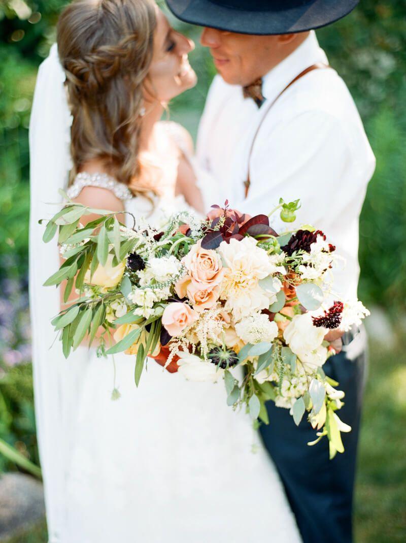 Cherry Basket Farm Wedding in Wedding Flowers u Bouquets