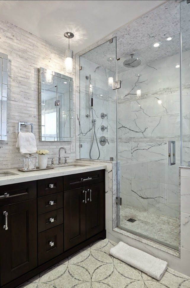 10 Stunning Transitional Bathroom Design Ideas To Inspire You: Pin By Home Garden On Amazing Desing