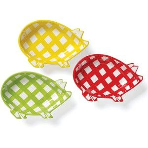 Clay Art Dinnerware Set of 4 Gingham Barbecue Pig Dip Dishes .  sc 1 st  Pinterest & Clay Art Dinnerware Set of 4 Gingham Barbecue Pig Dip Dishes ...