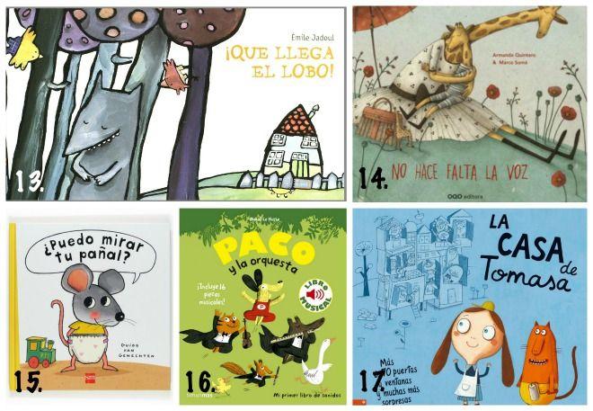 Selección Libros Infantiles, Cuentos Niños 2 A 3 Años