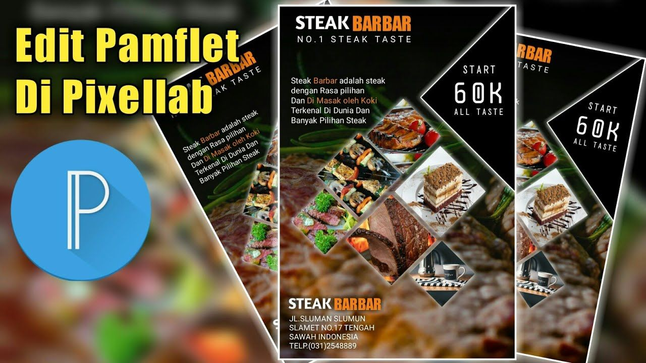 Desain Pamflet Di Android Menu Makanan Part 2 How To Design Food Poster 2 In 2021 Food Design Food Poster Design