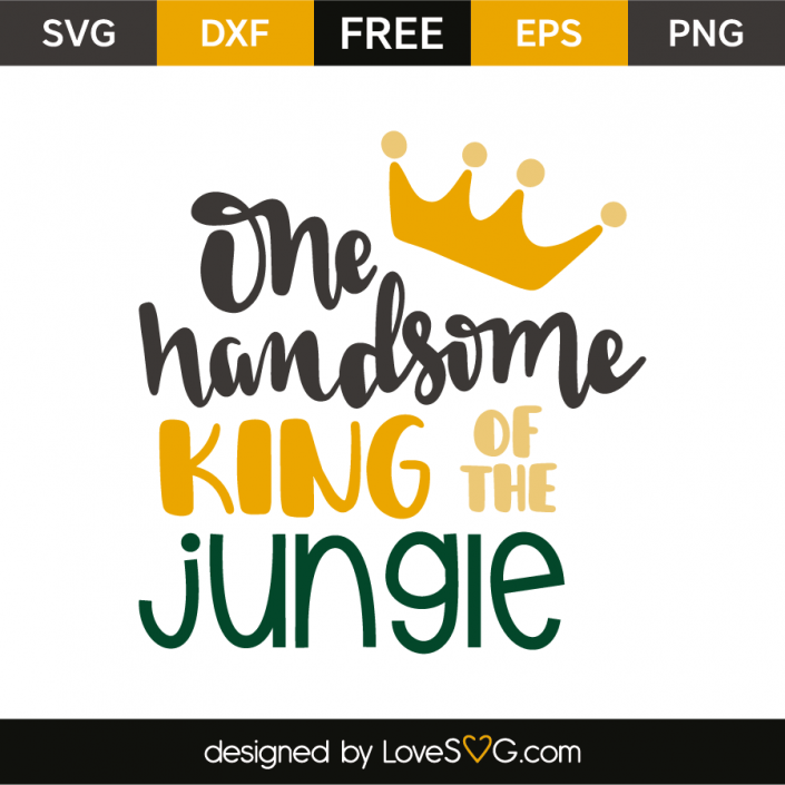 One handsome king of the jungle Jungle theme birthday