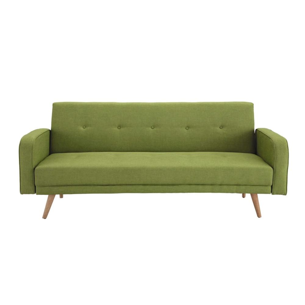Canape Clic Clac 3 Places Vert Anis Canape Lit Convertible Canape Design Canape Lit