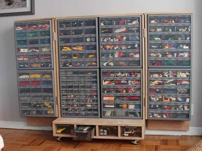 Inspiring Design of the Lego Storage Ideas with rack design   Lego ...