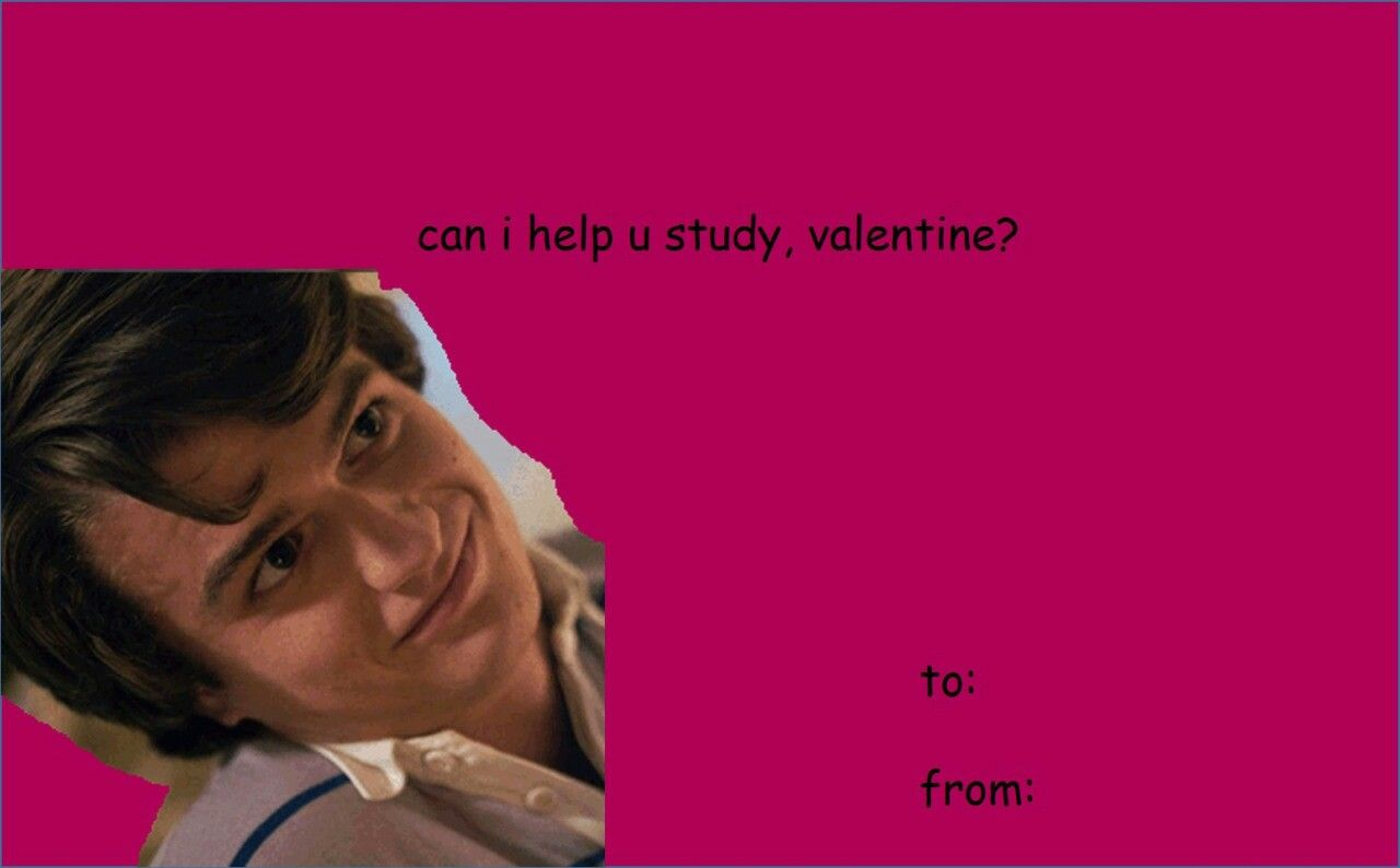 Pin By Lady Bird On Stranger Things Valentines Memes Stranger Things Funny Valentines Cards