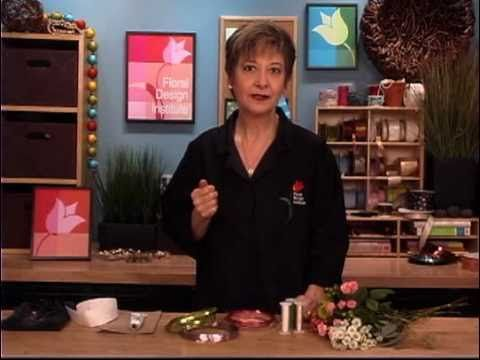 Great video on how to make fresh flower rings.