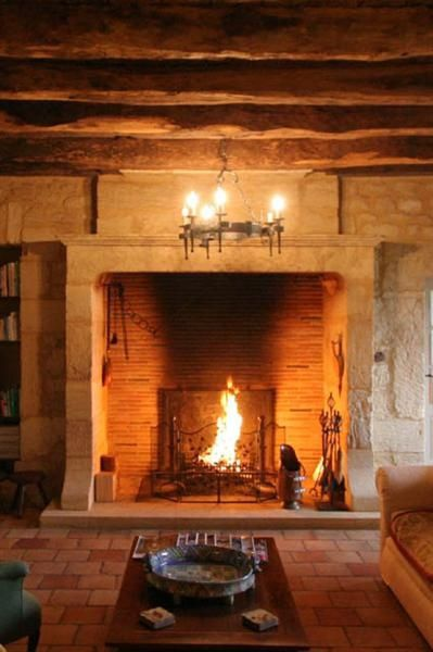 15 Fireplaces So Large So Grand You Can Almost Walk Into Them French Fireplace Inglenook Fireplace Fireplace