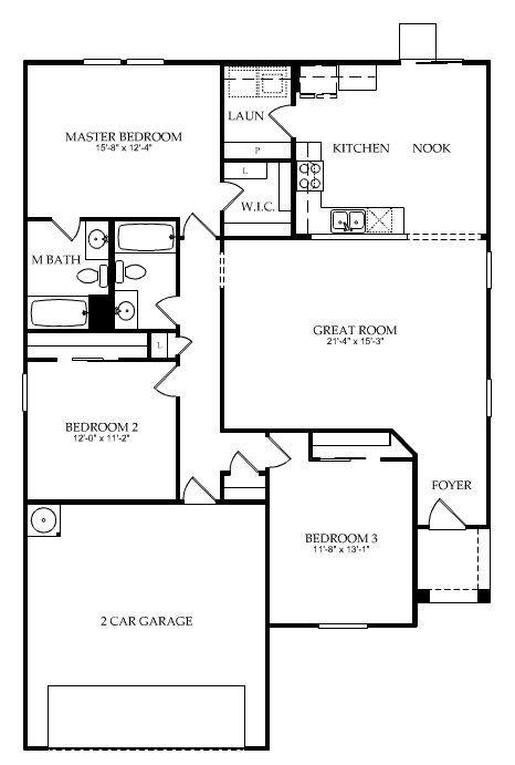 Centex Homes Navigator Floor Plan Floor Plans How To Plan Great Rooms