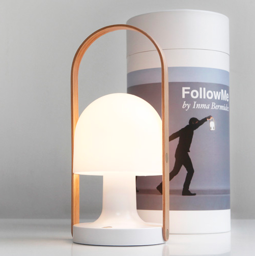 Follow Me Genopladelig Lampe Rechargeable Lamp Stearinlys Lampe Lamper