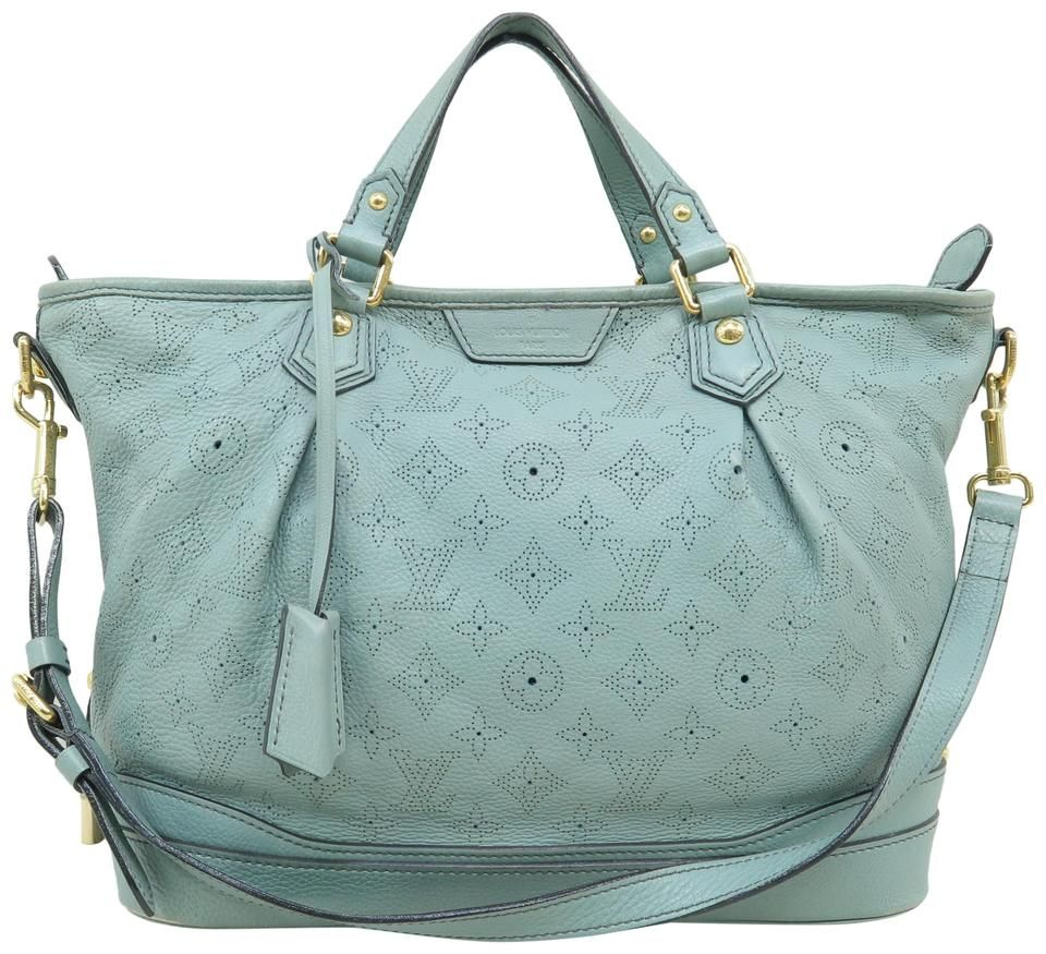 Louis Vuitton | Hobo Stellar Mahina Calfskin Mistyblue Shoulder Bag