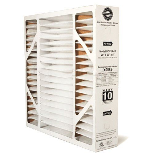 X0585 Healthy Climate Solutions 20x20x5 Merv 10 Filter Media For