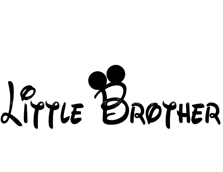 Little Brother Diy Big Brother Printable Big Sister Little