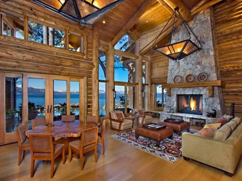 10 Luxe Log Cabins to Indulge in on National Log Cabin Day | Decorating and Design Blog | HGTV