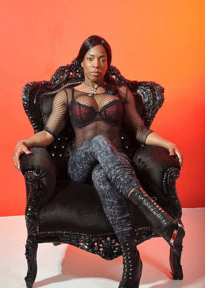 Black femdom domination dominatrix female