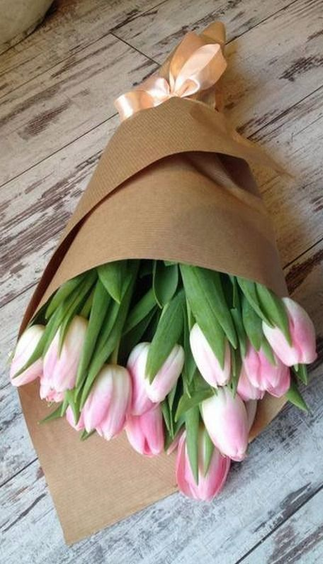 Tulips gift for spring.
