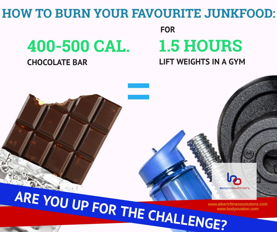 How To Burn Off That Chocolate Bar?
