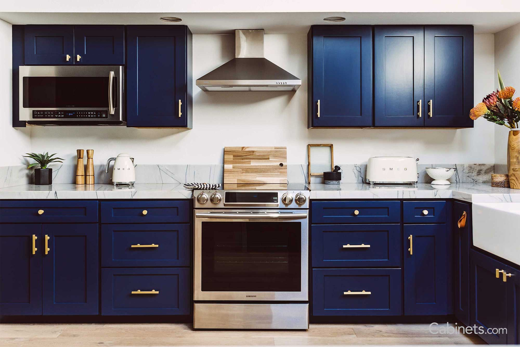 Pin By James Campbell On Kitchen Design Ideas Kitchen Cupboard Designs Kitchen Design Small Navy Kitchen