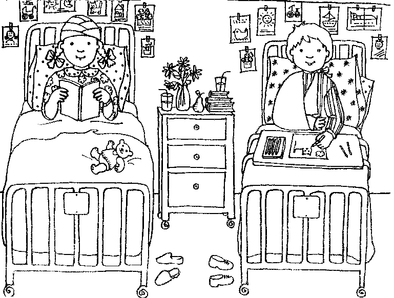 Hospital Coloring Sheet Printables Coloring Pages Book
