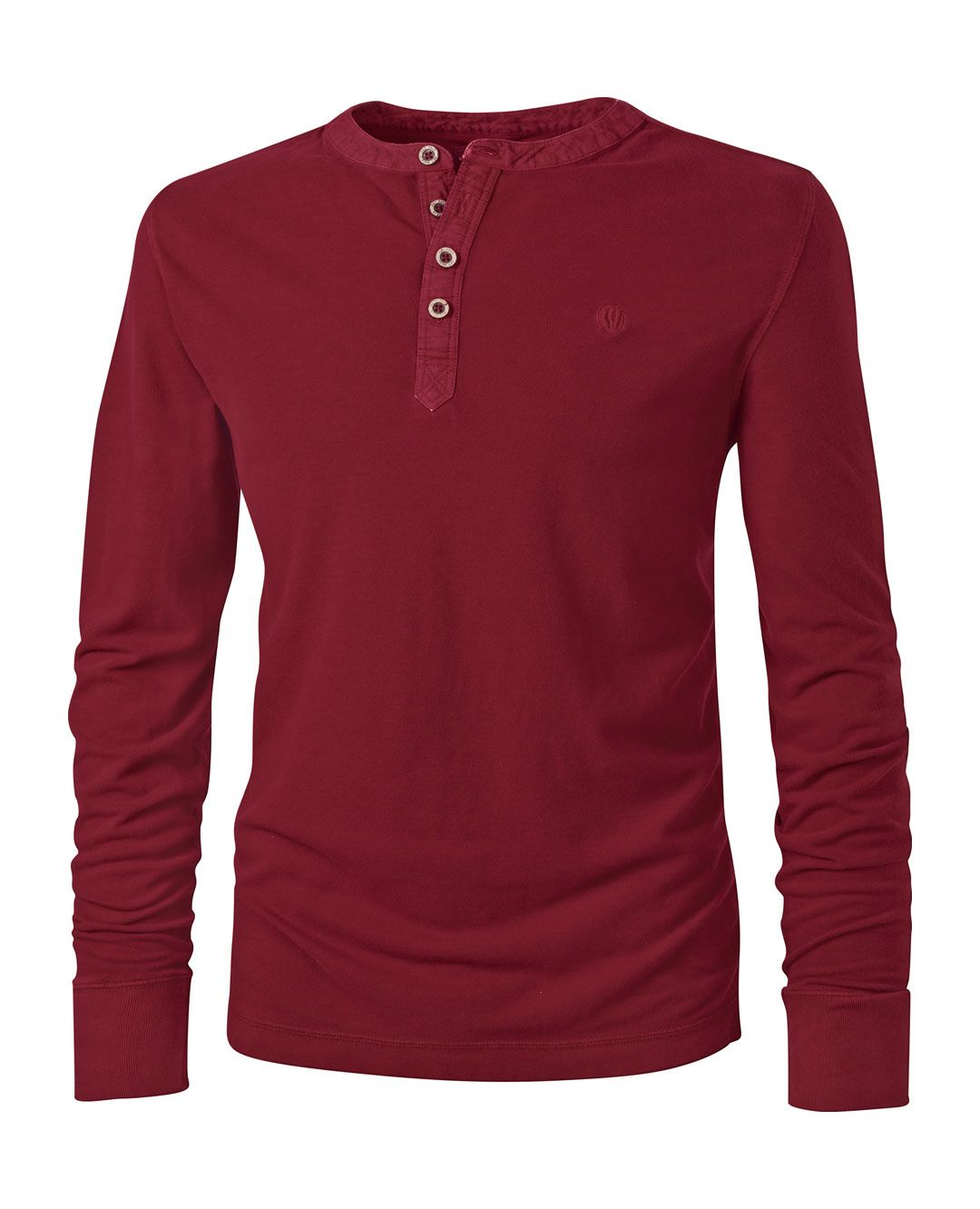 Large image of Scariff Henley T-Shirt - opens in a new window