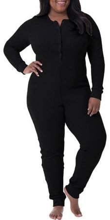 1a5ec3afed342a Fruit of the Loom Fit for Me by Women's and Women's Plus Size Waffle  Thermal Underwear Union Suit