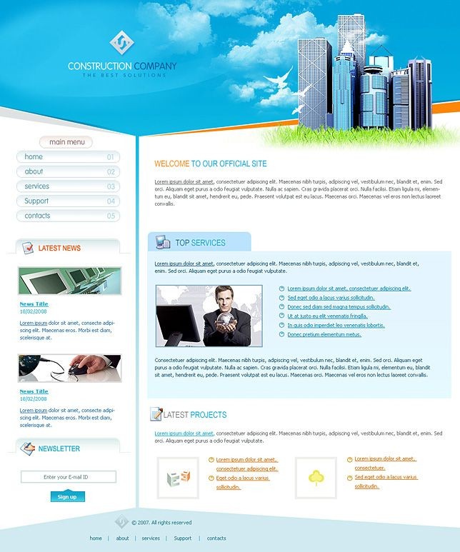 Download Home Page Template - jaynirawq cool template Pinterest