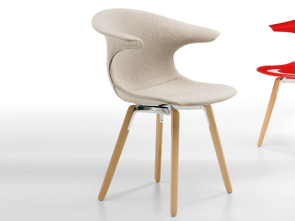 Omp Sedie ~ Loop upholstered chair by infiniti by omp group design claus