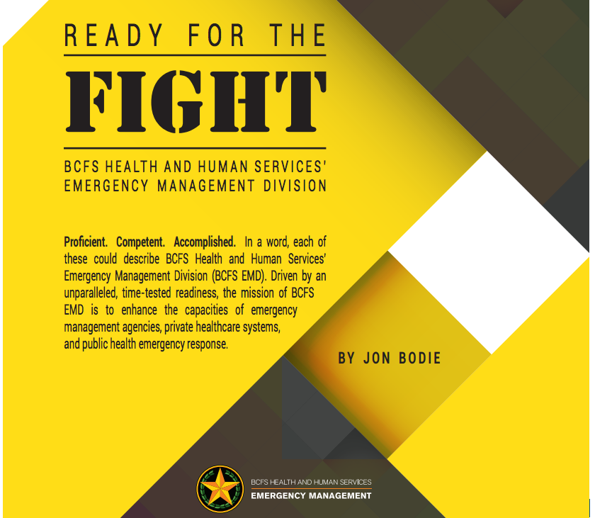 Ready For The Fight Bcfs Emergency Management Division Emergency Management Management Human Services