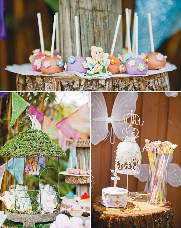 Magical Tinkerbell Party Backyard Pixie Hollow Tinkerbell party