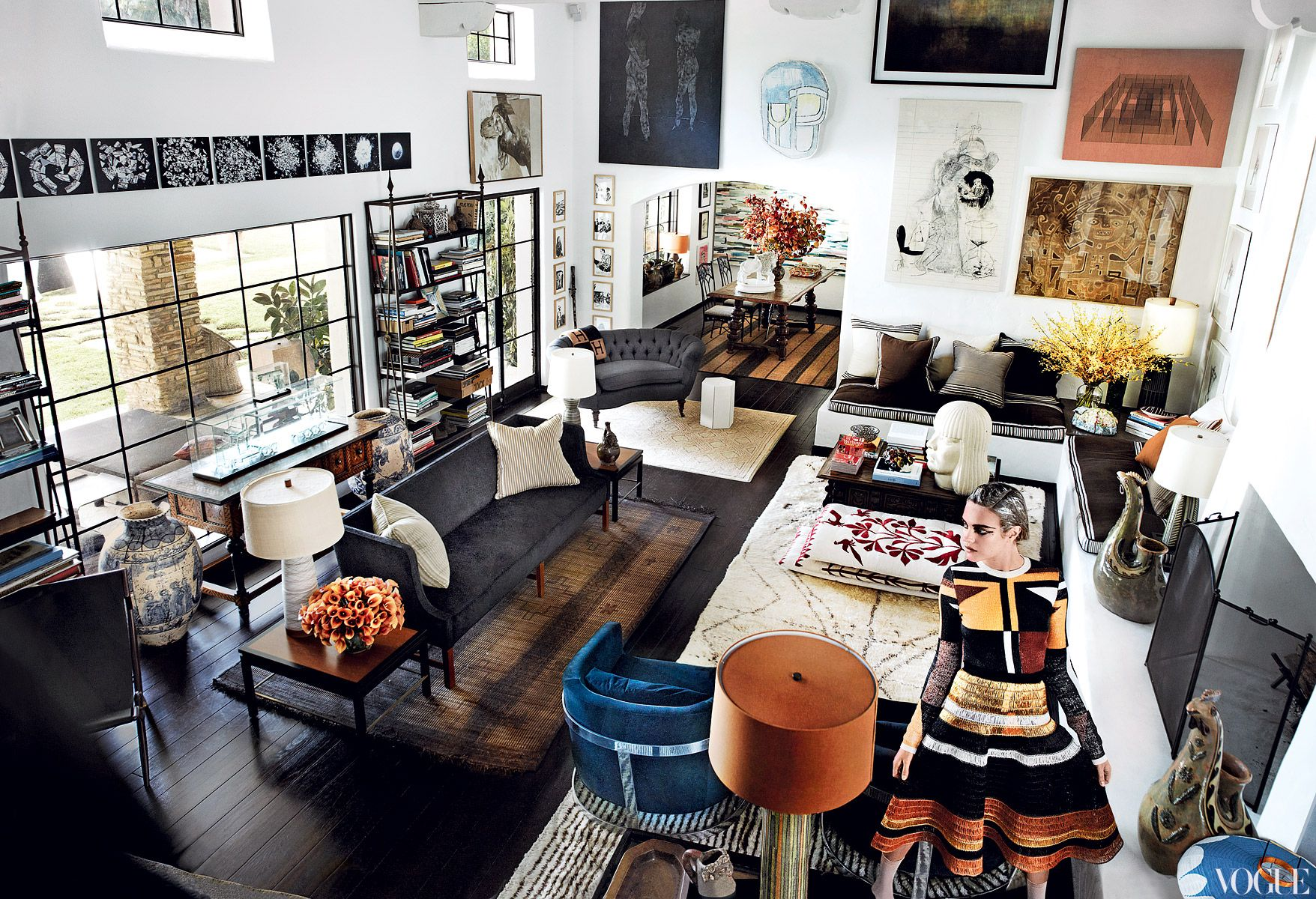 Mario Testino's Apartment