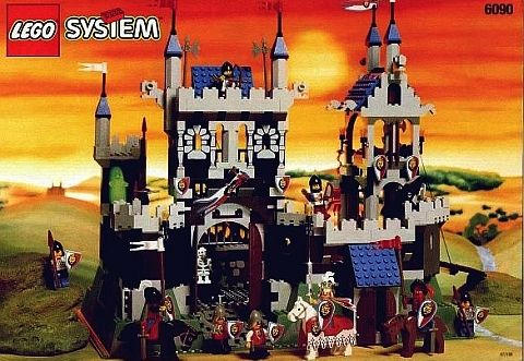 6090 lego royal knights castle from 1995 nostalgia pinterest. Black Bedroom Furniture Sets. Home Design Ideas