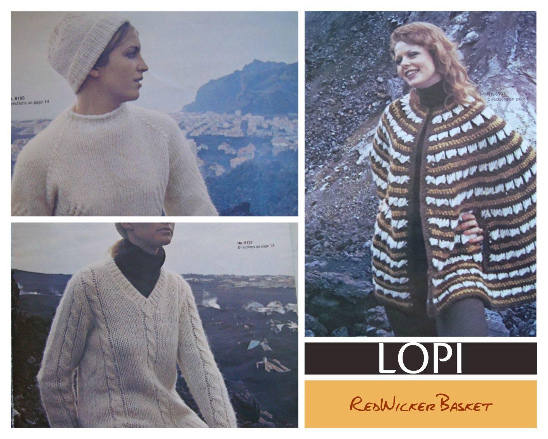 Reynolds Vol. 81 Knitting Pattern Icelandic LOPI/ Most Size 31- 40 ...