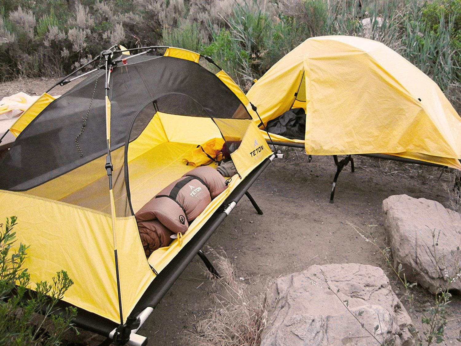 Teton Sports Outfitter XXL Quick tent and cot is a system for outdoor sleeping. Sold separately they can be used together as a tent cot. : used backpacking tents - memphite.com