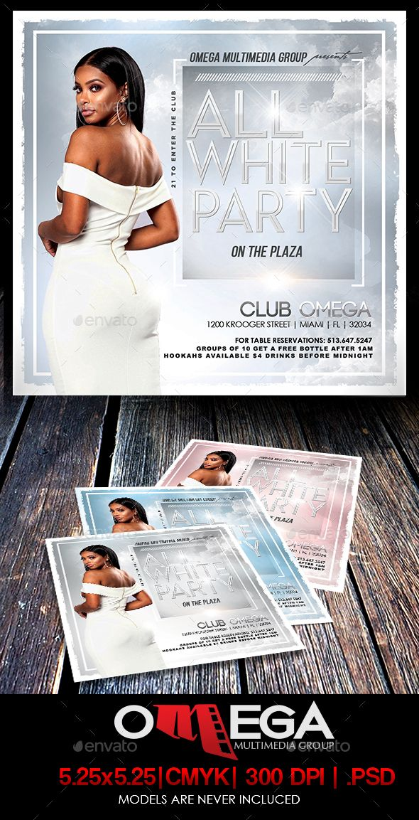 all white party events flyers party flyer templates