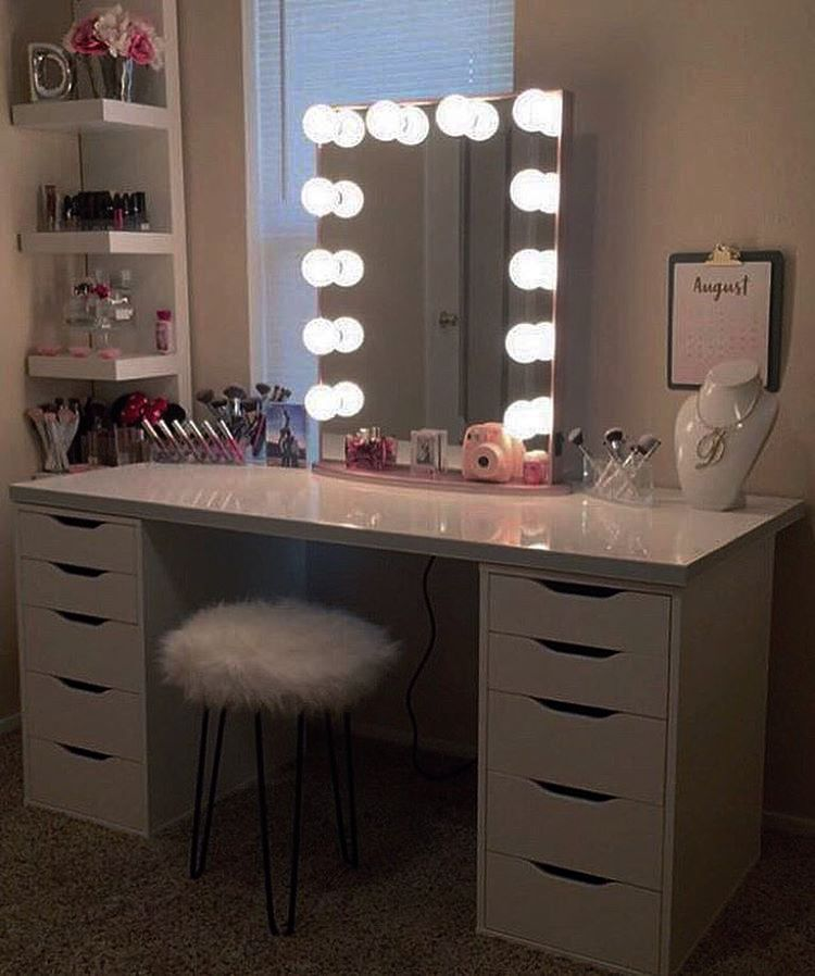 Makeup Vanity Set Home Depot Toward Ikea Dupe Old Table The Forever Hd