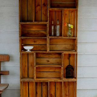 Recycled shelving