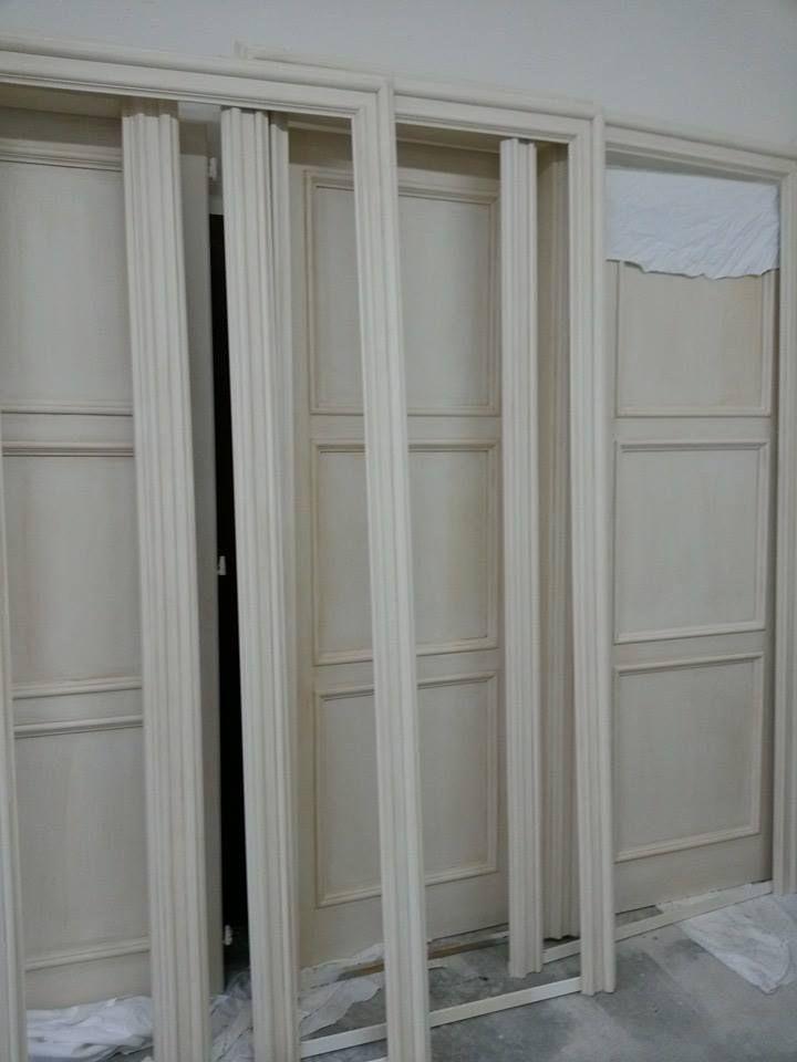 Porte su misura decorate a mano http://blog.pianetadonna.it ...