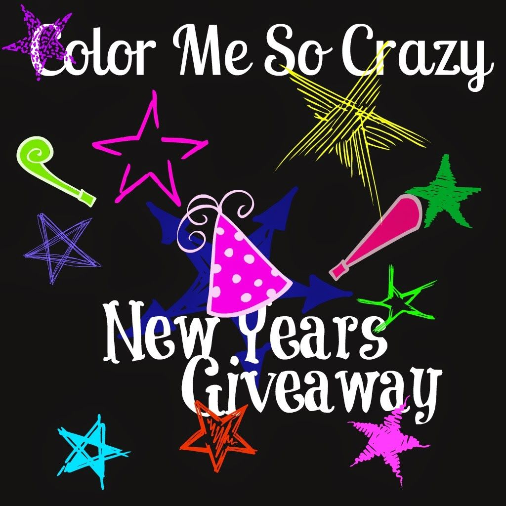 ColorMeSoCrazy: Happy 2015 Giveaway and Thank You!
