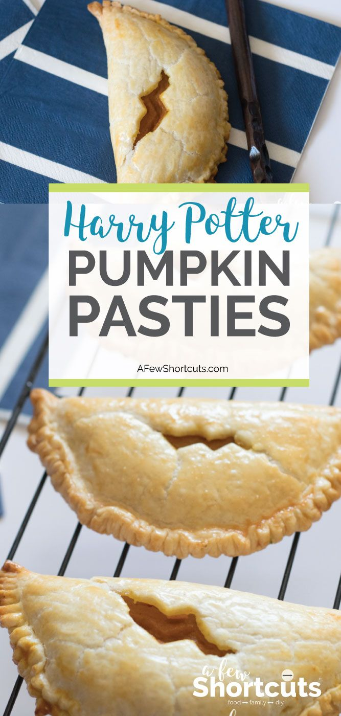 How To Make Pumpkin Pasties From Harry Potter Recipe Pumpkin Pasties How To Make Pumpkin Pumpkin Recipes