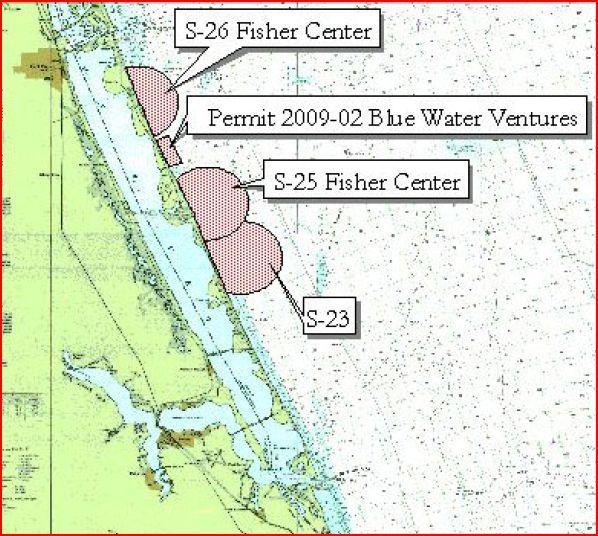 Vero Beach Shipwreck Map