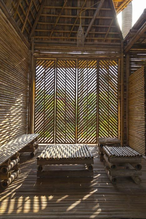 Bamboo Home By H P Architects Bamboo Home Architecture Bamboo