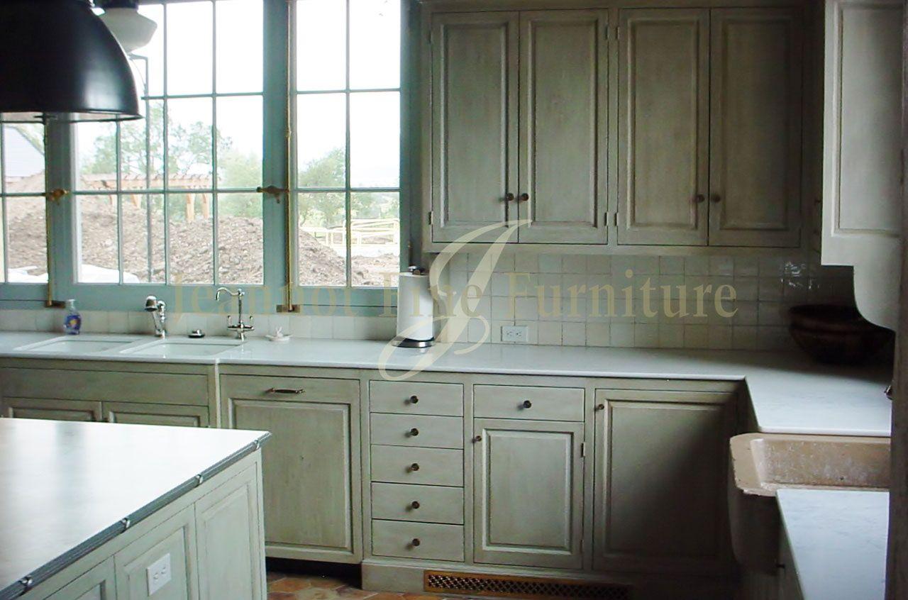 California Kitchen Cabinets Raised Panel Doors In A Washed Finish Kitchen Cabinets Raised Panel Doors Kitchen